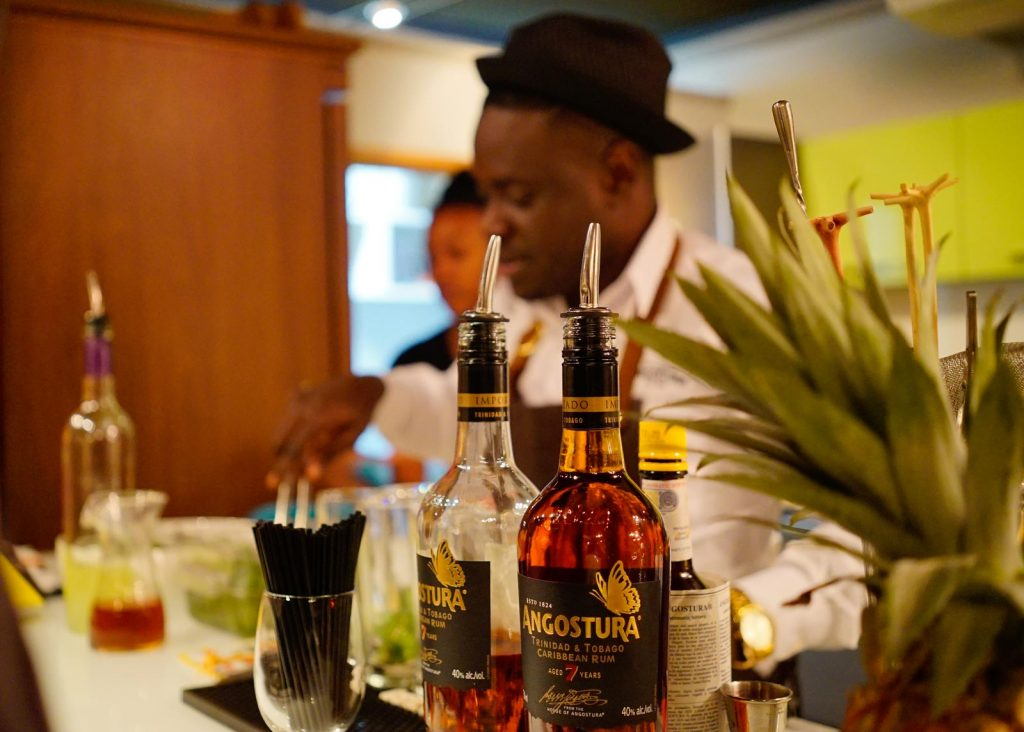 Chief Mixologist at House Of Angostura, Raymond Edwards