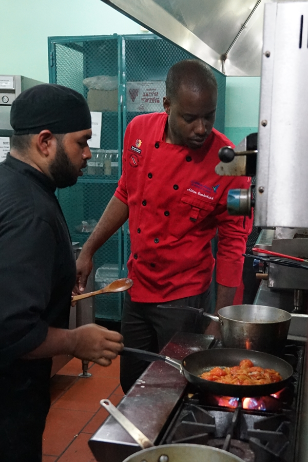 Chef Adrian Cumberbatch, Captain of the Trinidad & Tobago National Culinary Team 2017
